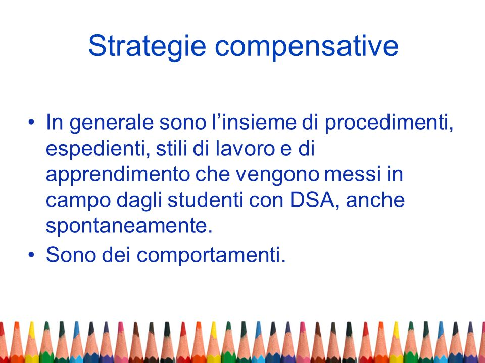 Strategie compensative