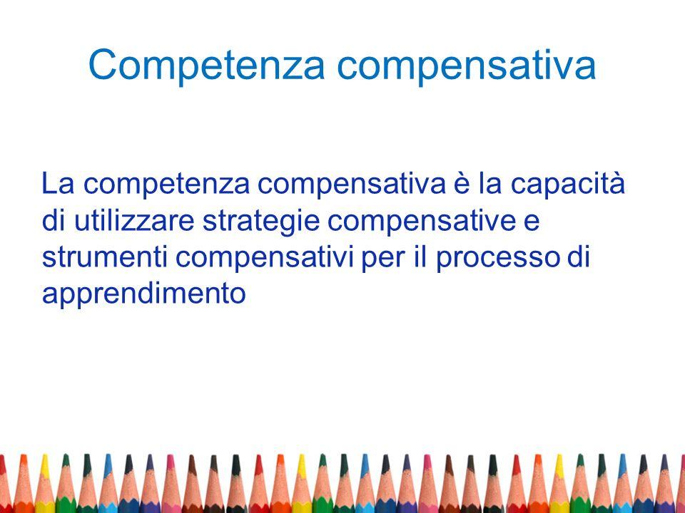 Competenza compensativa