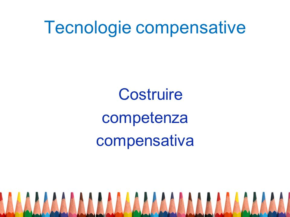 Tecnologie compensative
