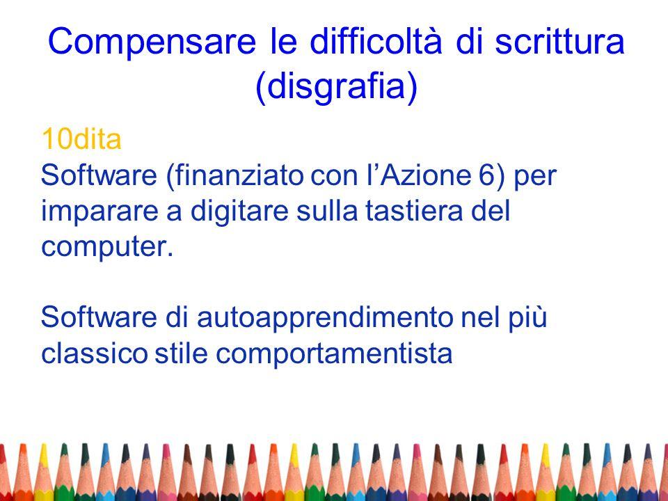Compensare le difficoltà di scrittura (disgrafia)