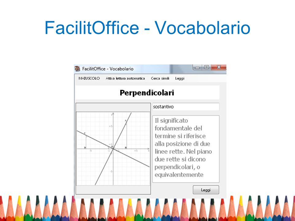 FacilitOffice - Vocabolario