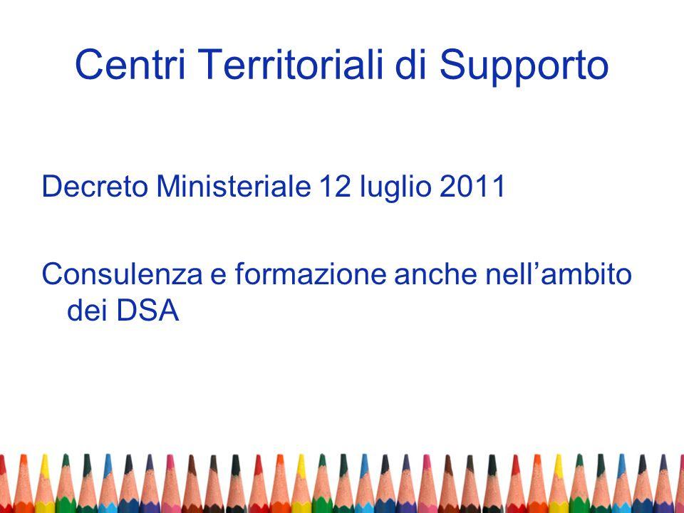 Centri Territoriali di Supporto