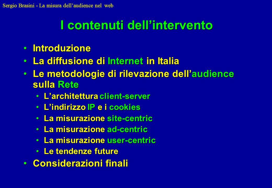 I contenuti dell'intervento