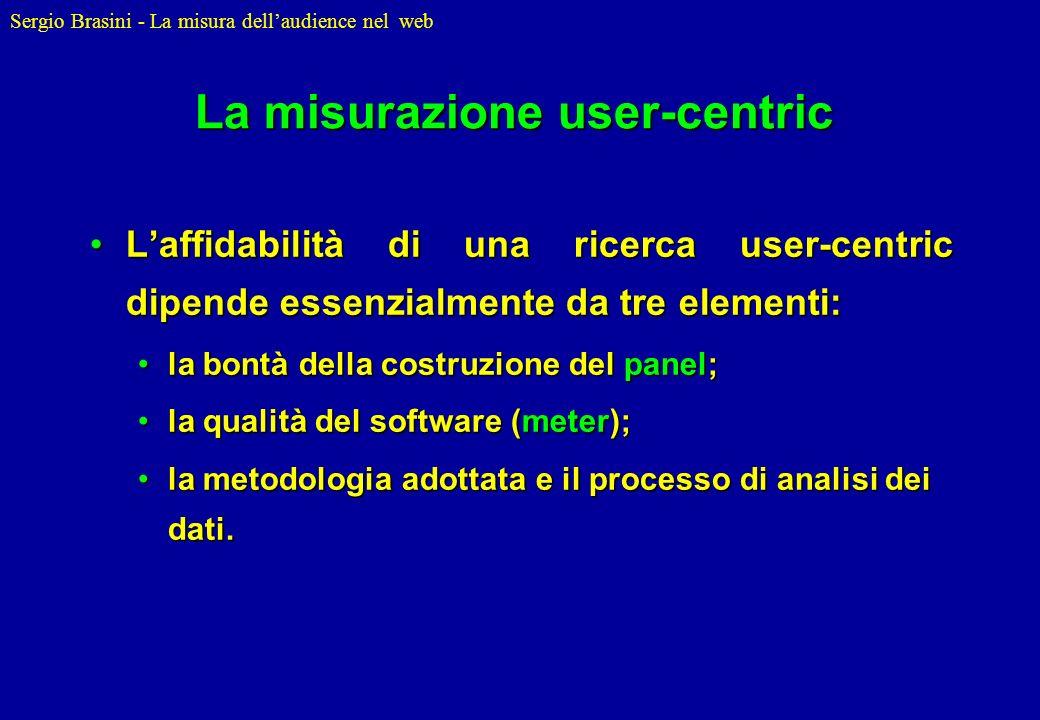 La misurazione user-centric
