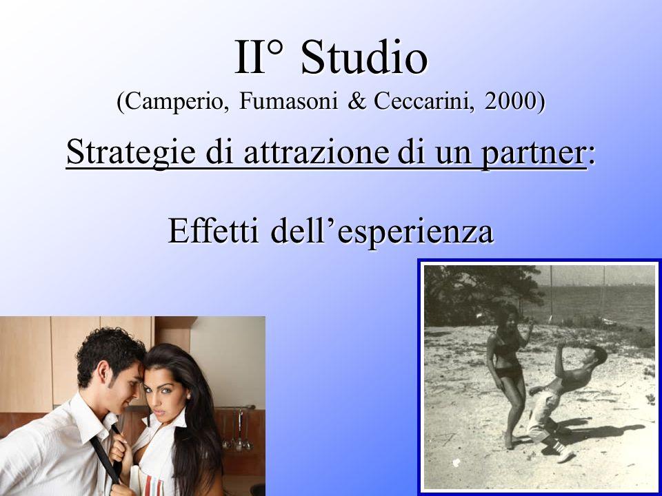 II° Studio (Camperio, Fumasoni & Ceccarini, 2000)