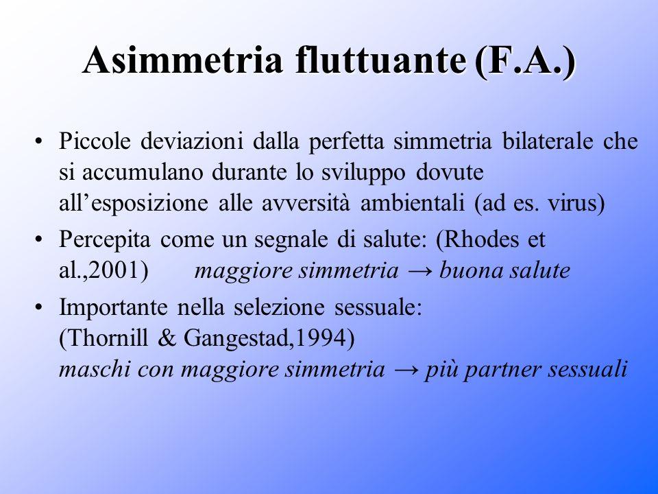 Asimmetria fluttuante (F.A.)