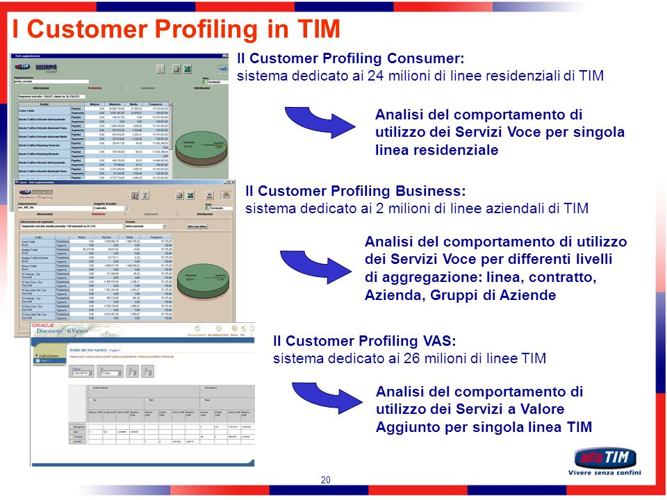 I Customer Profiling in TIM