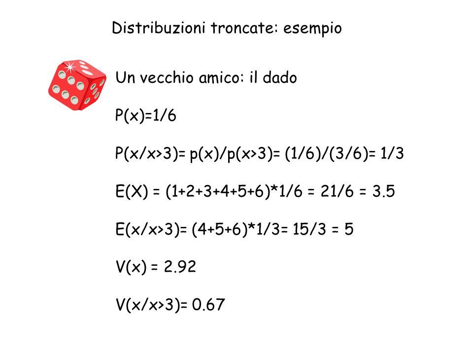 Distribuzioni troncate: esempio