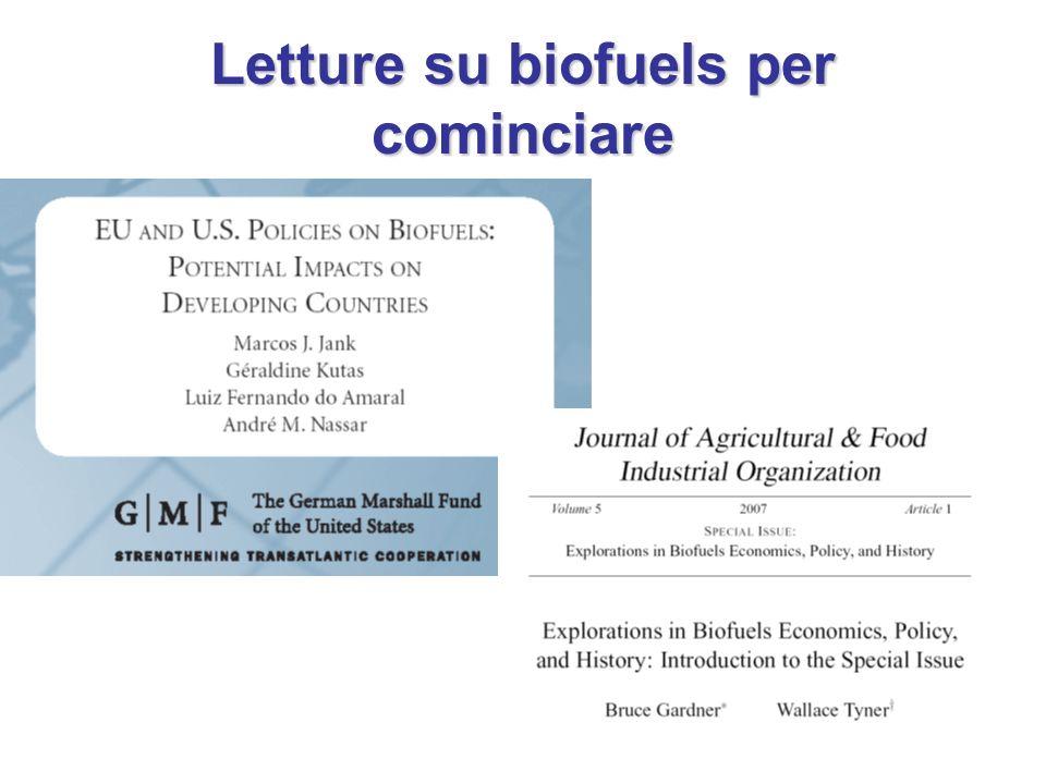 Letture su biofuels per cominciare