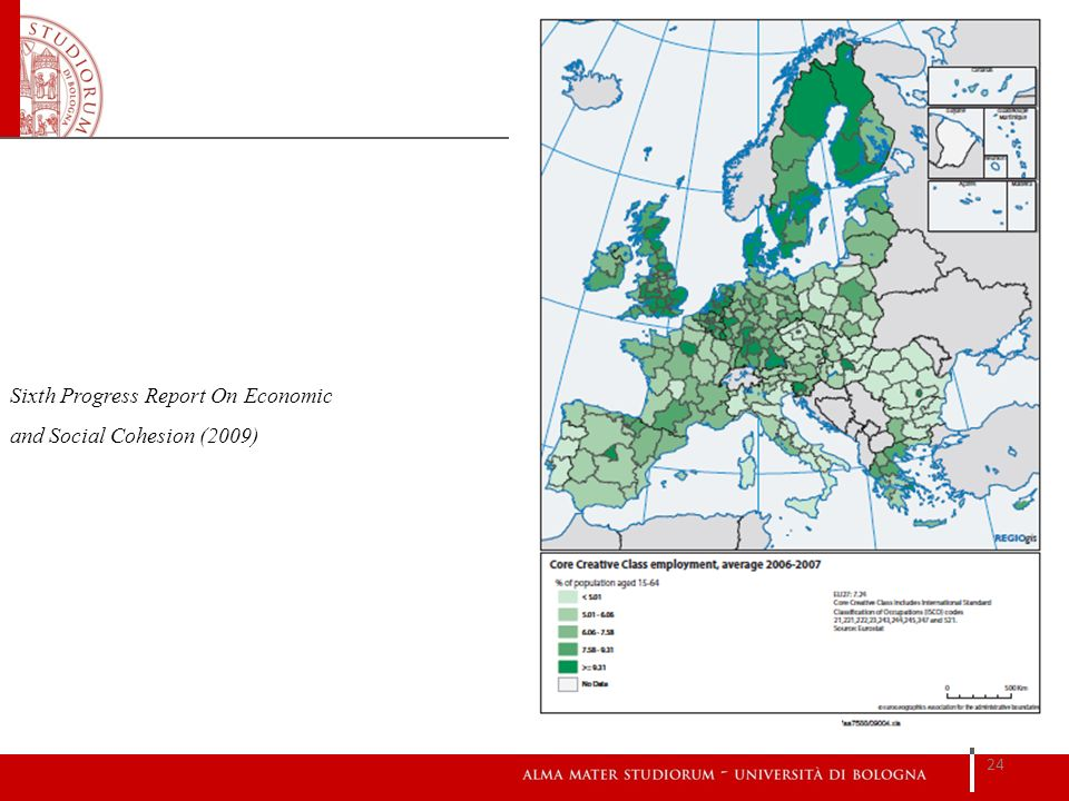 Sixth Progress Report On Economic and Social Cohesion (2009)