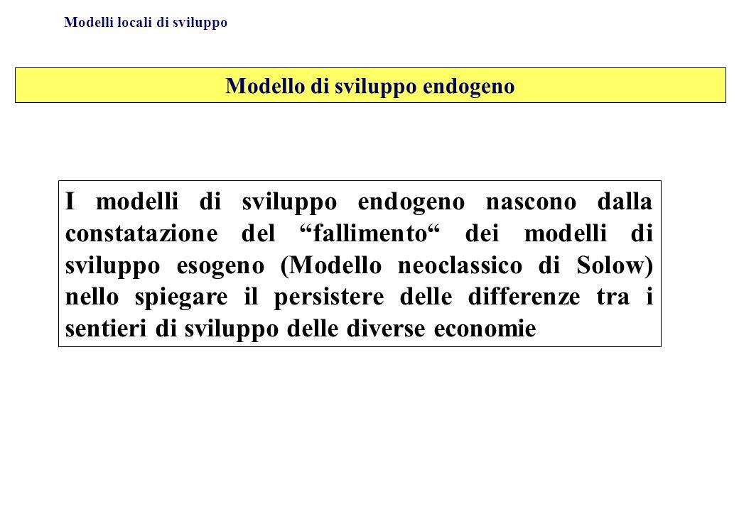 Modello di sviluppo endogeno