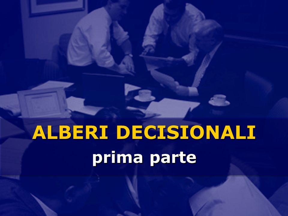 ALBERI DECISIONALI prima parte