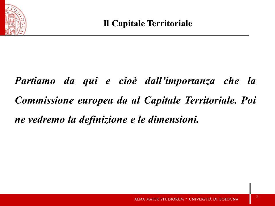 Il Capitale Territoriale