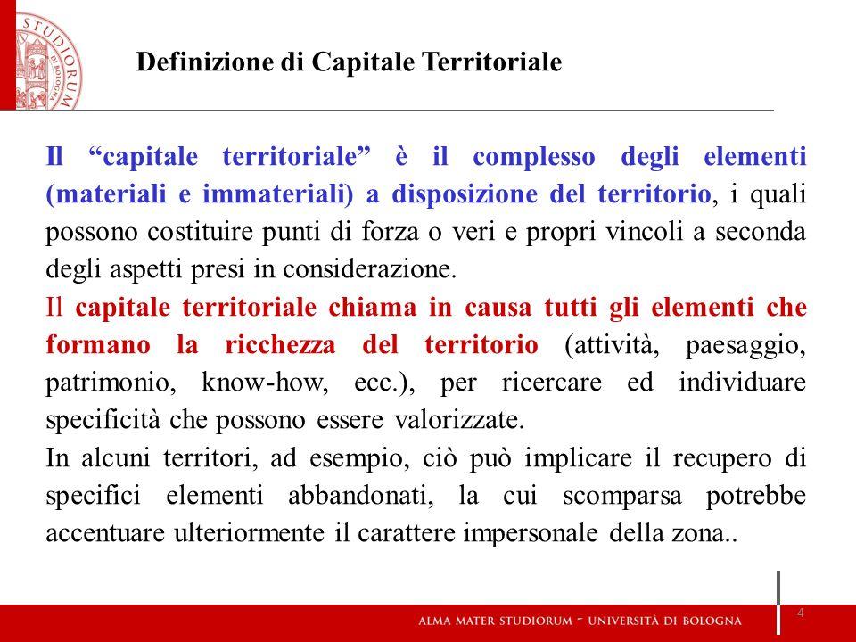Definizione di Capitale Territoriale
