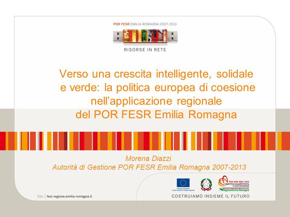 Autorità di Gestione POR FESR Emilia Romagna 2007-2013