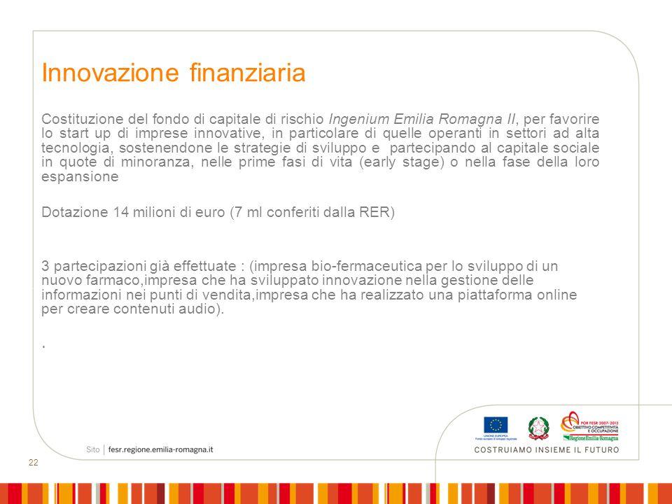 Innovazione finanziaria