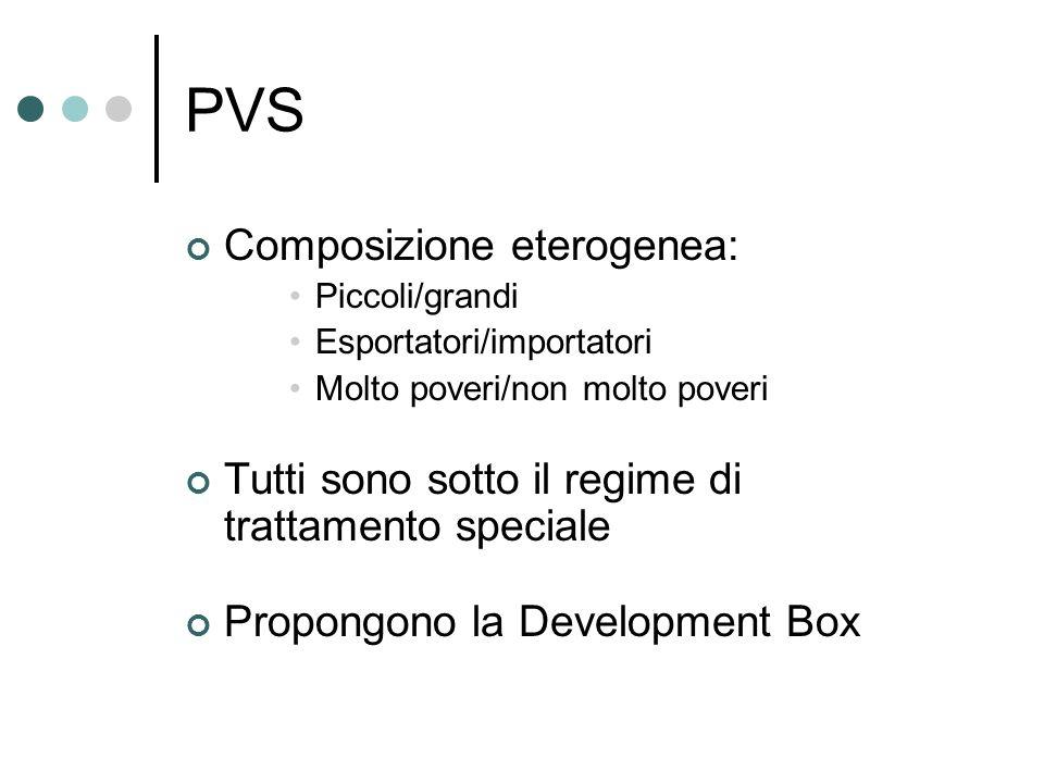 PVS Composizione eterogenea: