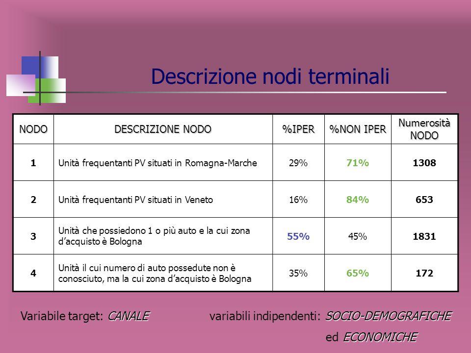 Descrizione nodi terminali