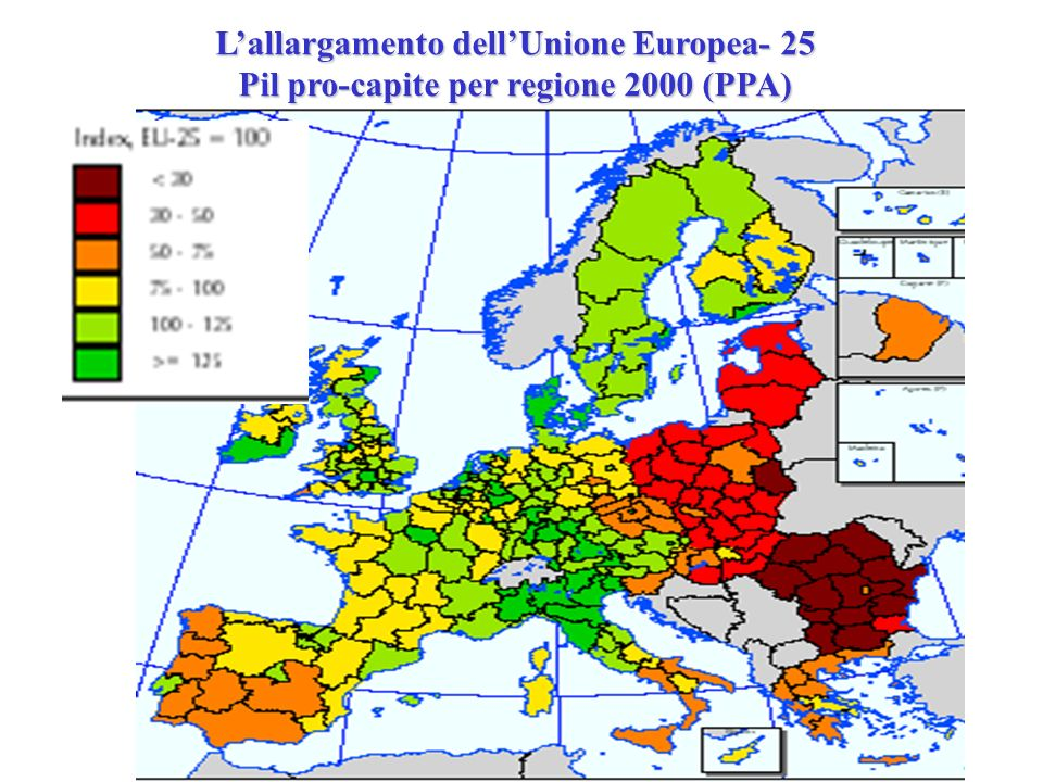 L'allargamento dell'Unione Europea- 25