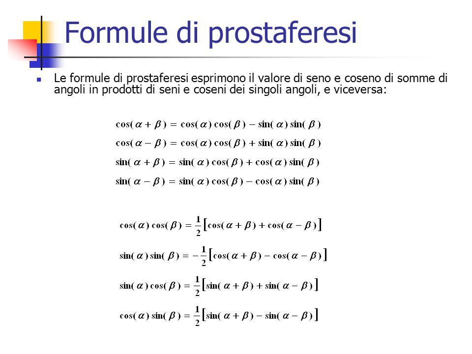 Formule di prostaferesi