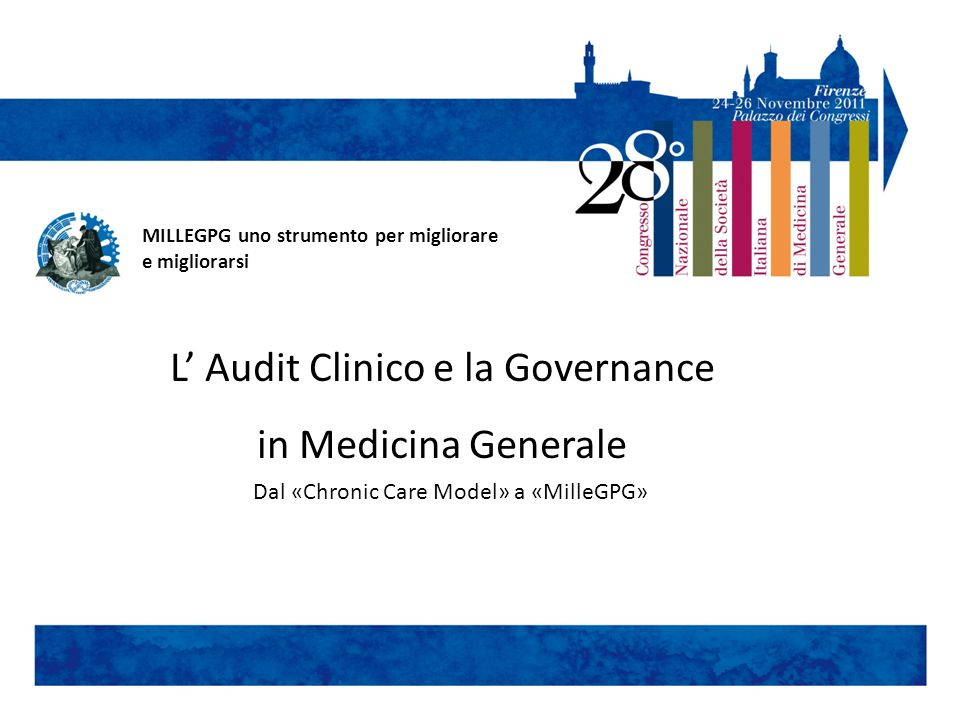 L' Audit Clinico e la Governance