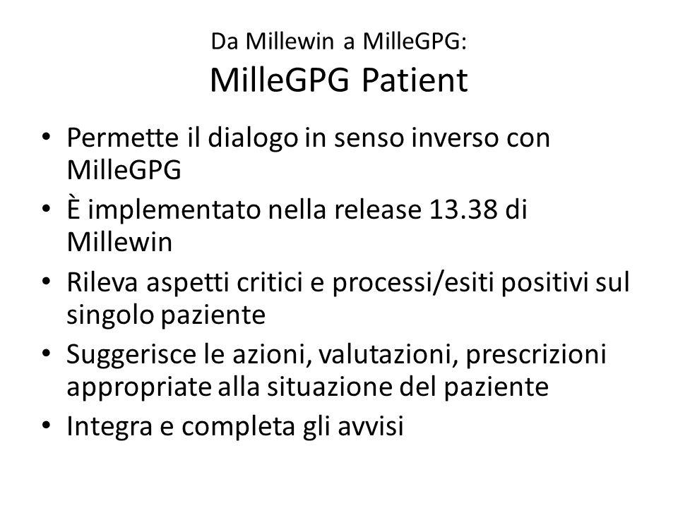 Da Millewin a MilleGPG: MilleGPG Patient