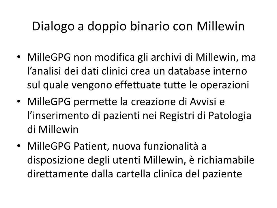 Dialogo a doppio binario con Millewin