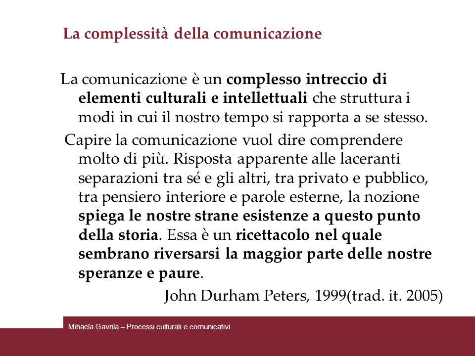 La complessità della comunicazione