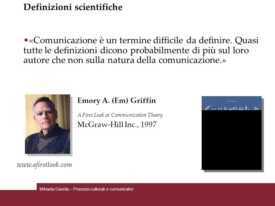 Definizioni scientifiche