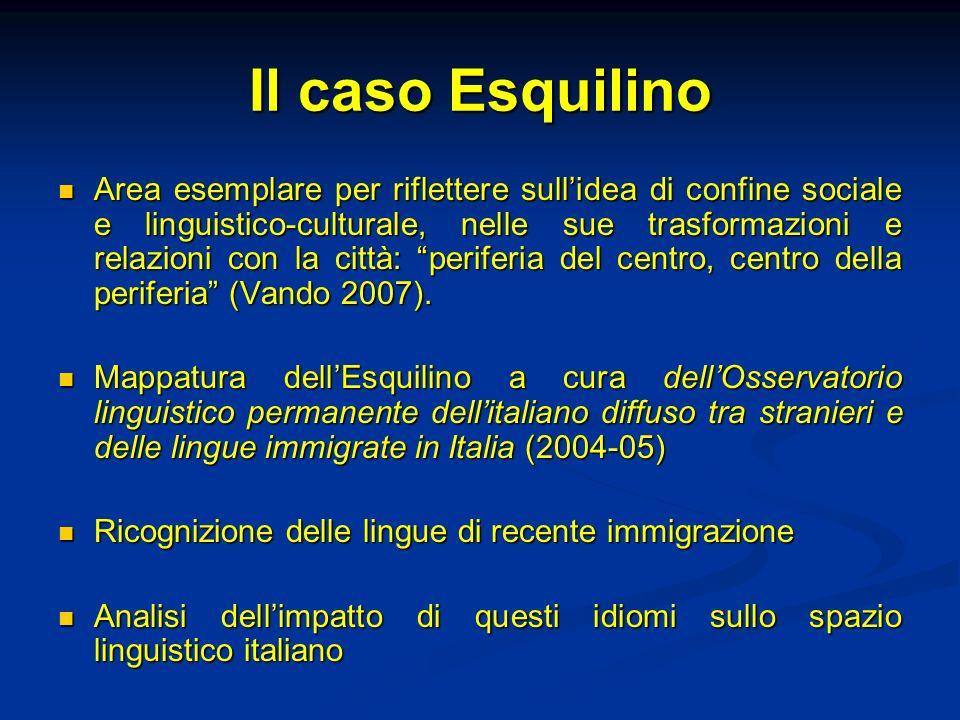 Il caso Esquilino