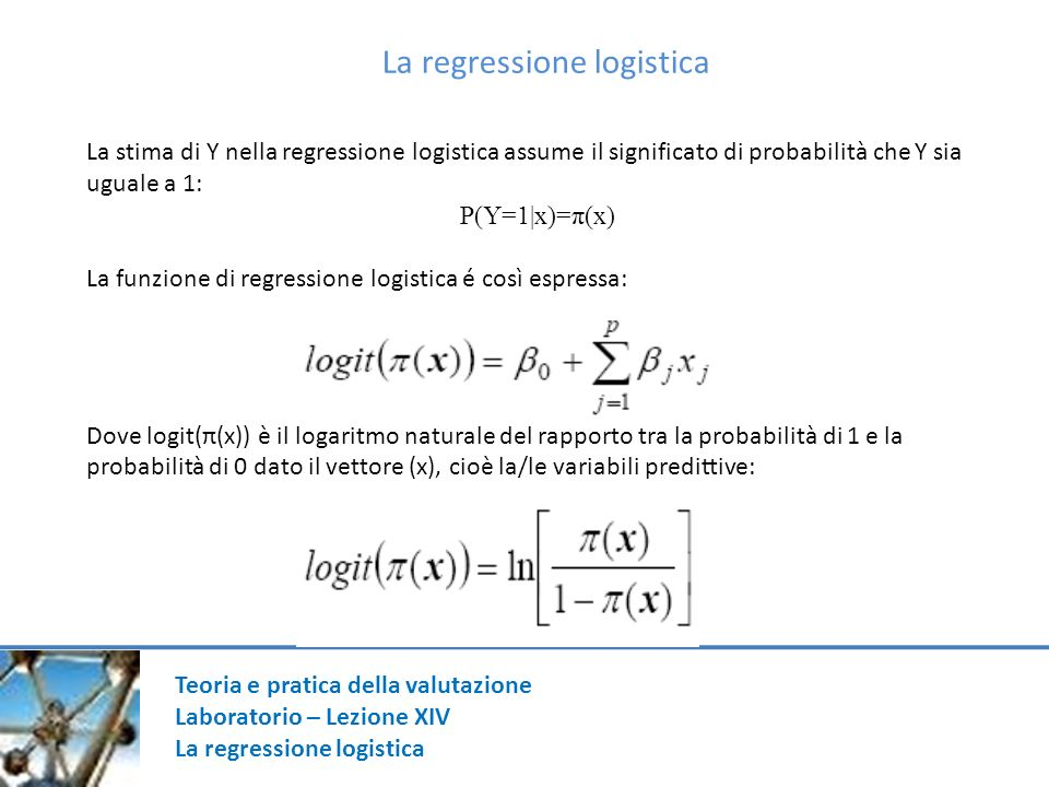 La regressione logistica
