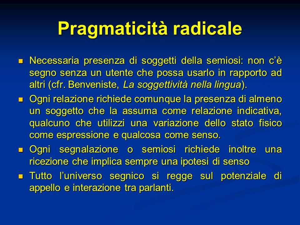 Pragmaticità radicale