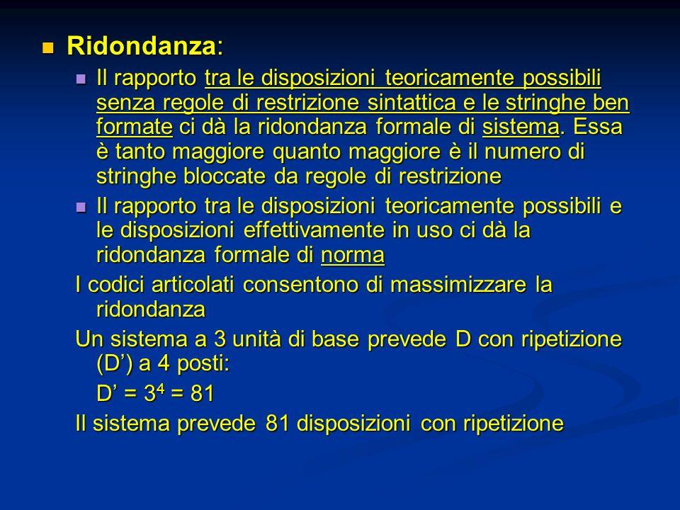 Ridondanza: