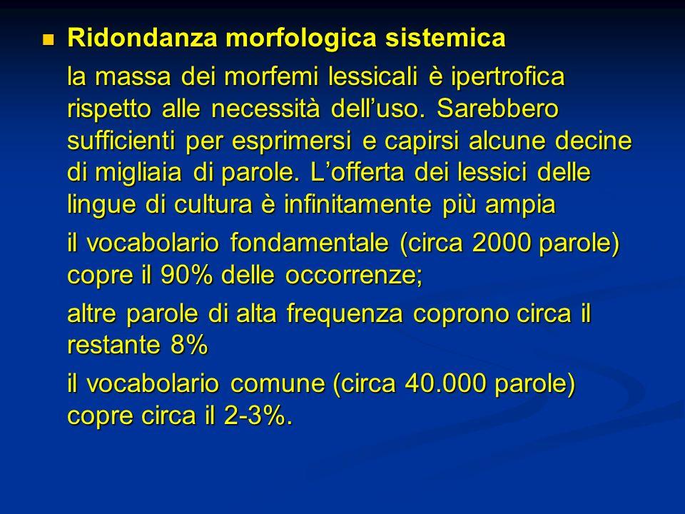 Ridondanza morfologica sistemica
