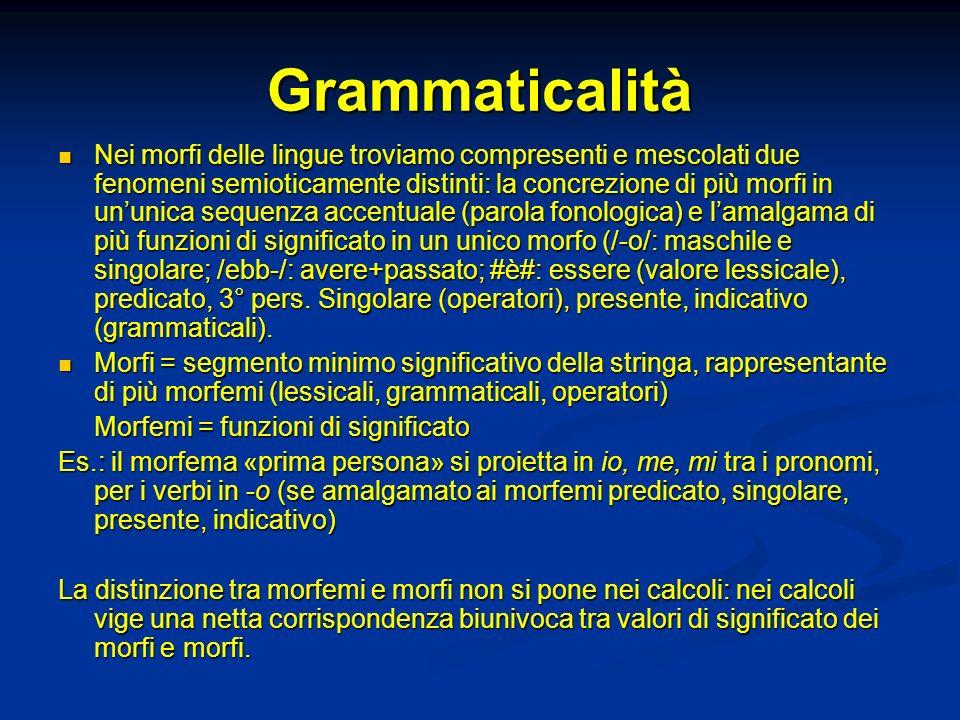 Grammaticalità