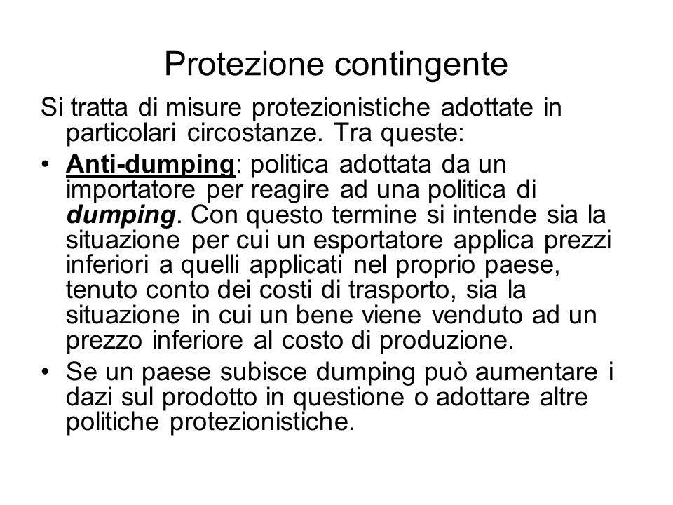 Protezione contingente