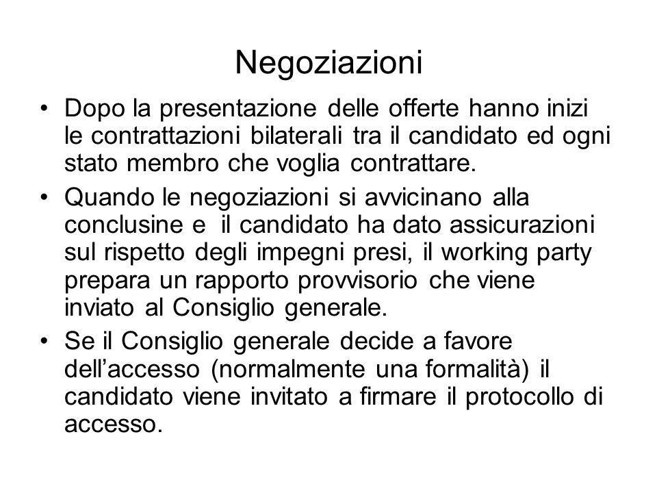 Negoziazioni