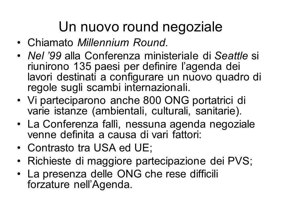 Un nuovo round negoziale