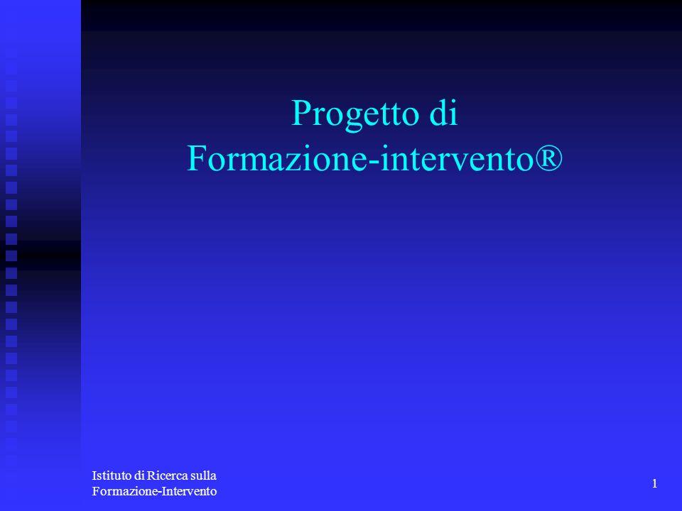Progetto di Formazione-intervento®
