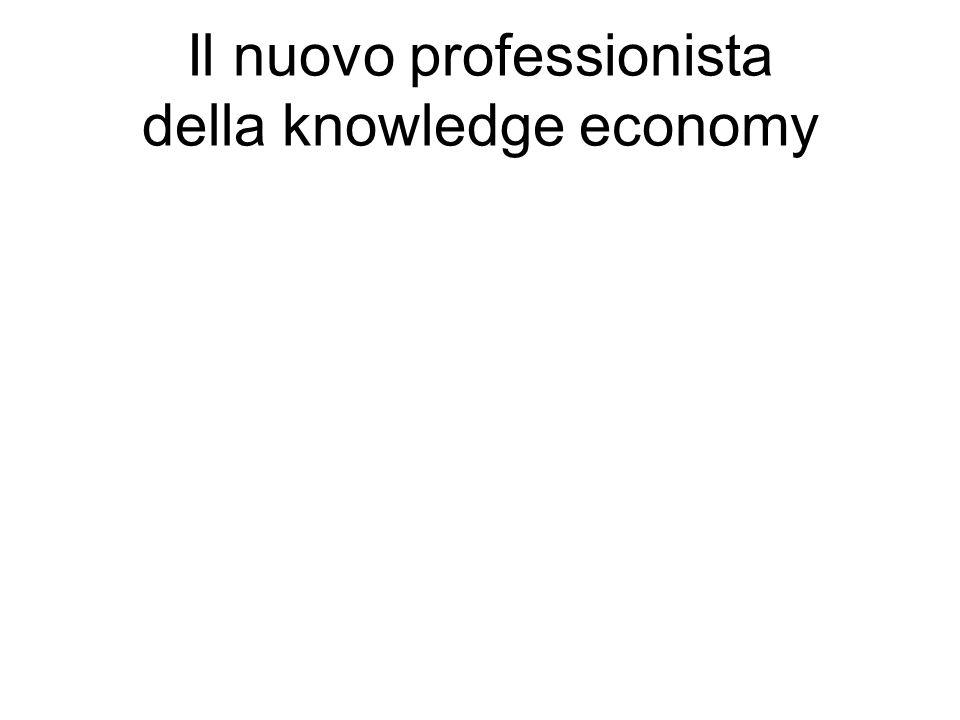 Il nuovo professionista della knowledge economy