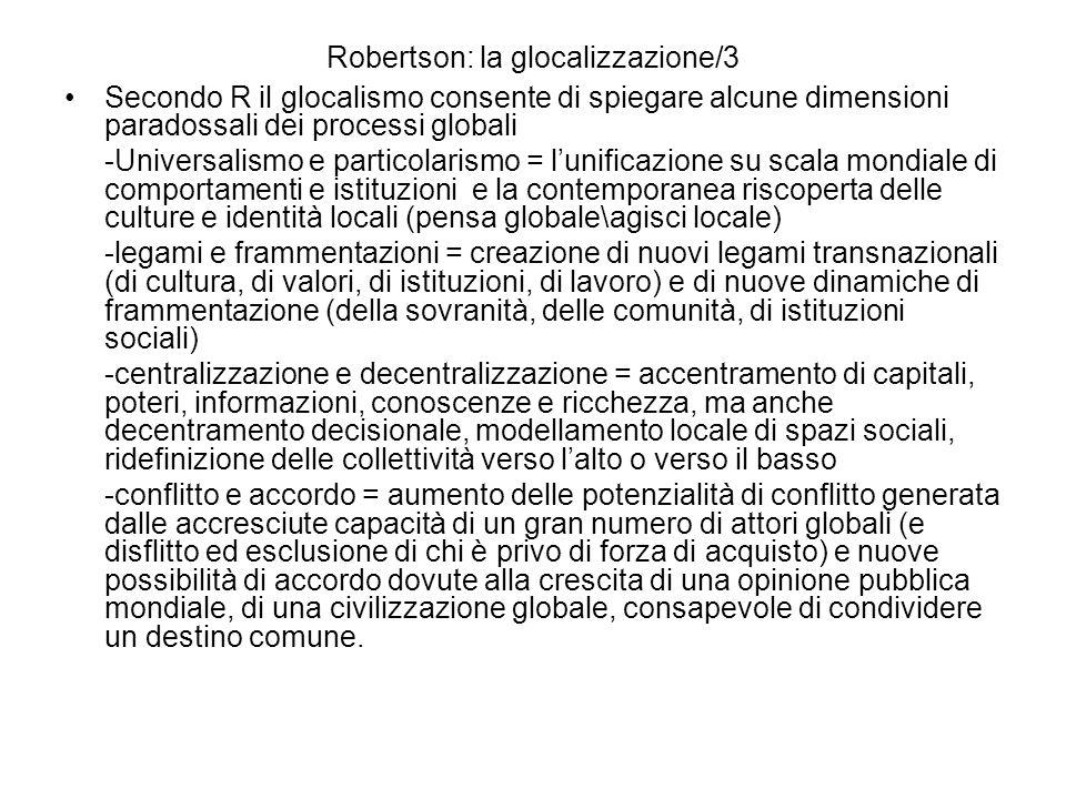Robertson: la glocalizzazione/3