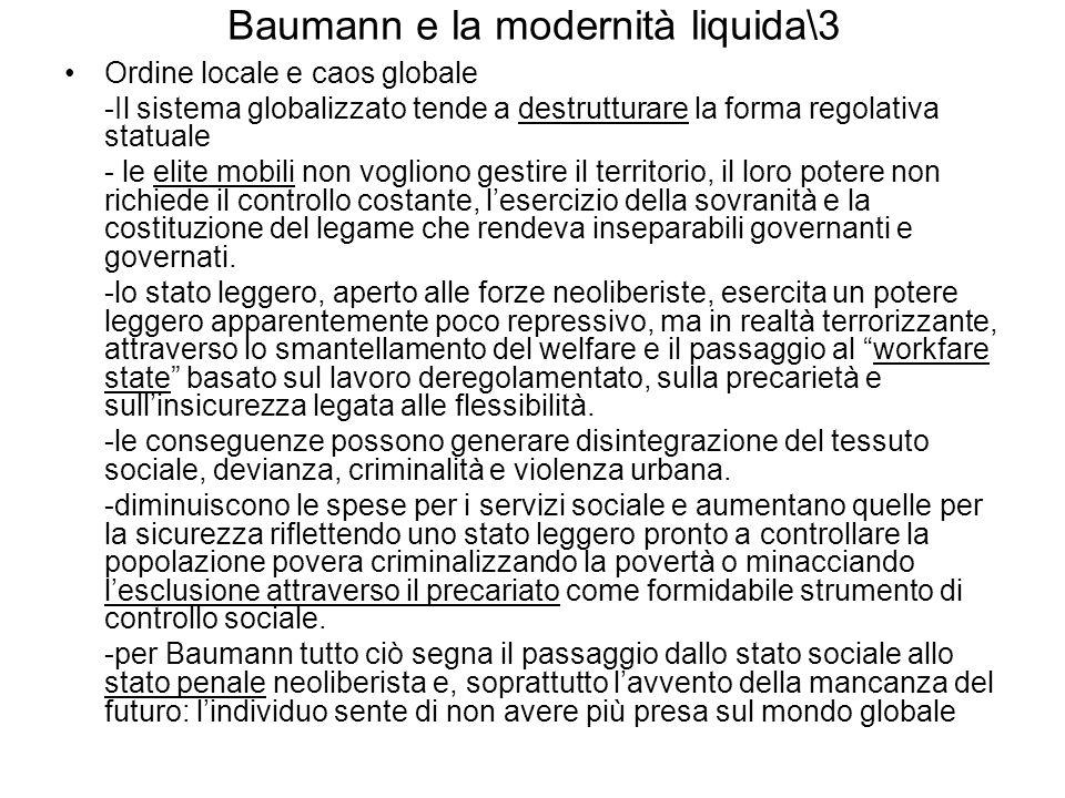 Baumann e la modernità liquida\3