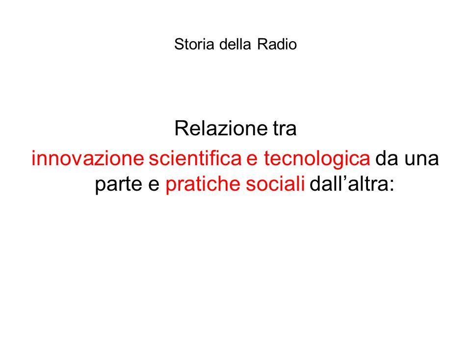 Storia della Radio Relazione tra.