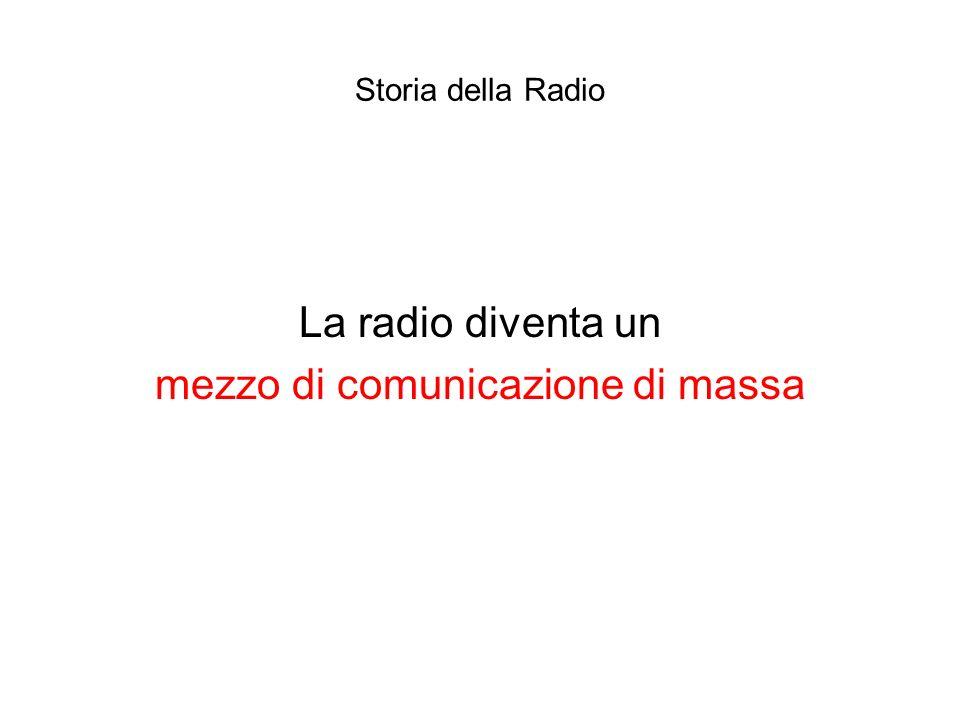 mezzo di comunicazione di massa