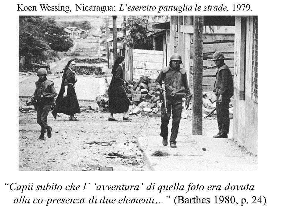 Koen Wessing, Nicaragua: L'esercito pattuglia le strade, 1979.