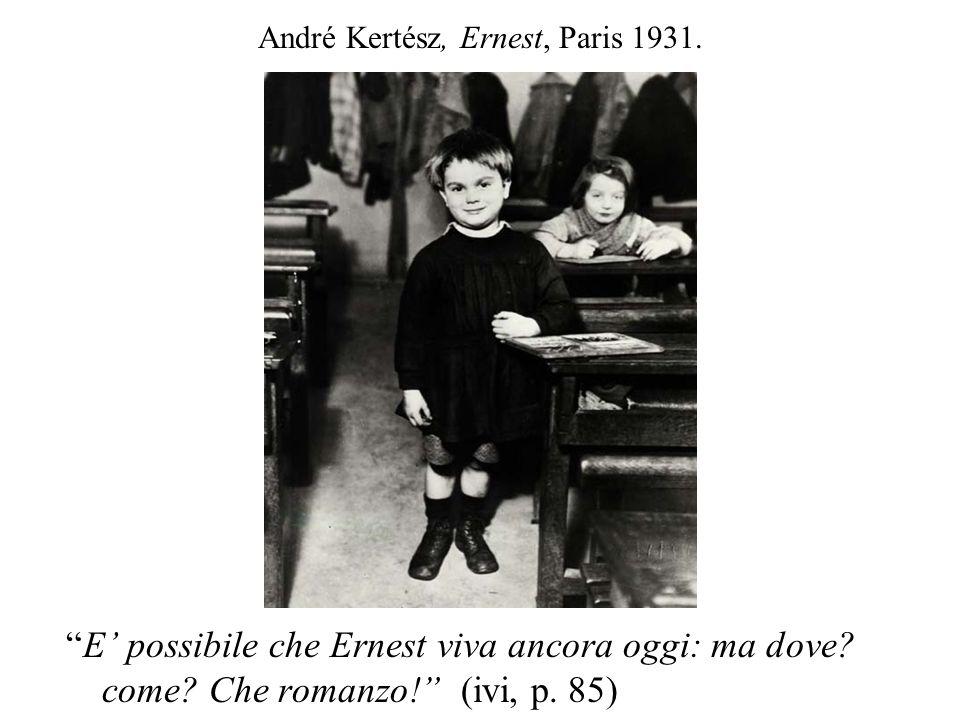 André Kertész, Ernest, Paris 1931.
