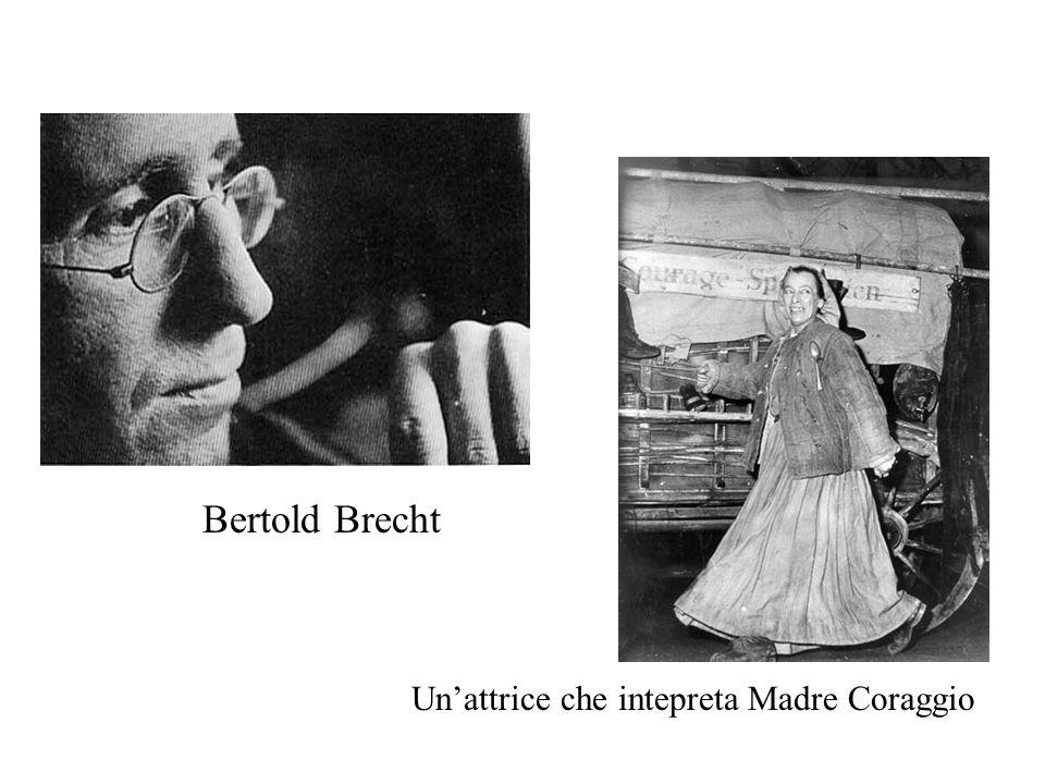 Bertold Brecht Un'attrice che intepreta Madre Coraggio