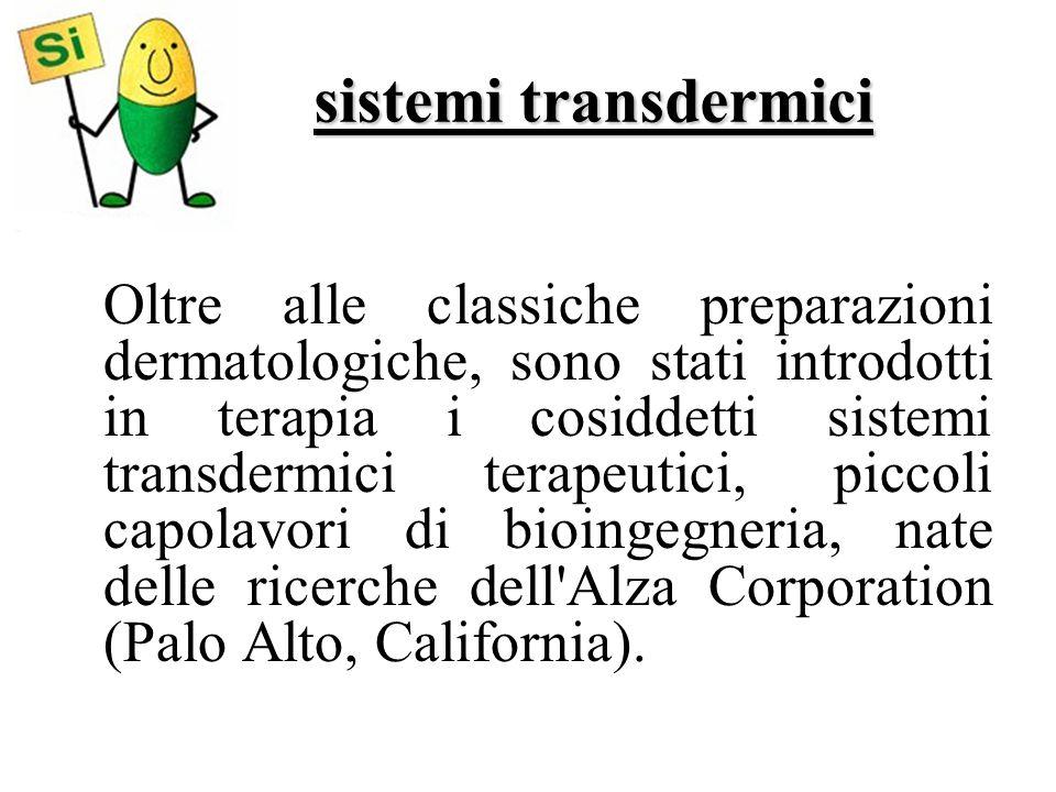 sistemi transdermici