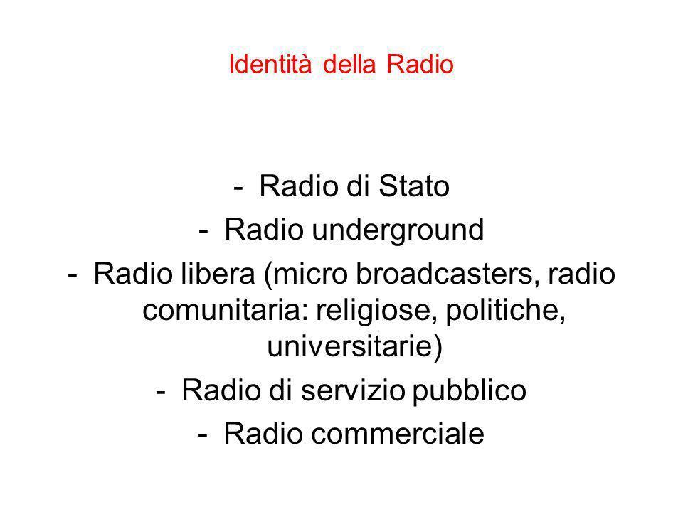 Radio di servizio pubblico