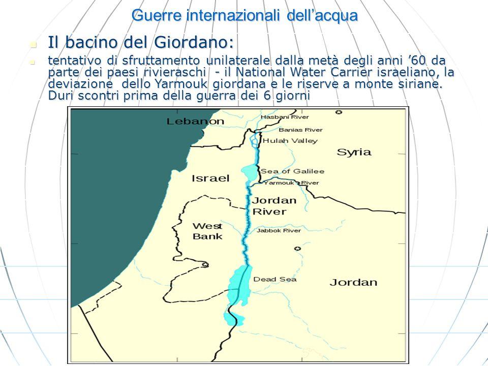 Guerre internazionali dell'acqua
